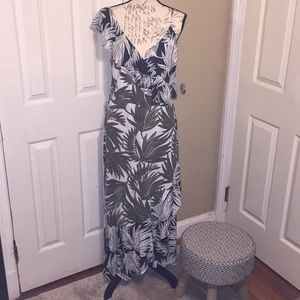 1 State wrap dress